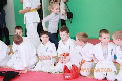 6 Клубные поединки УРАКЕН по каратэ шинкиокушин среди детей 6