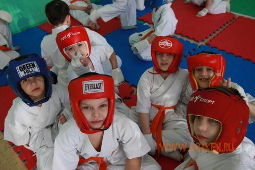6 Клубные поединки УРАКЕН по каратэ киокусинкай среди детей 19