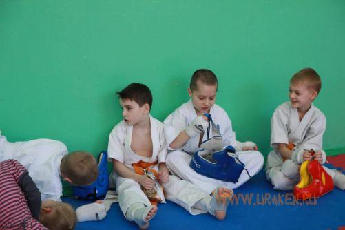 Шестые Клубные поединки УРАКЕН по каратэ кекусинкай среди детей 6