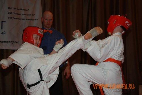первенство по кикушинкай карате молодое поколение 2011 8