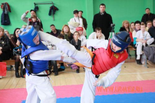 Шестые Клубные поединки УРАКЕН по каратэ шинкиокушин среди детей 15