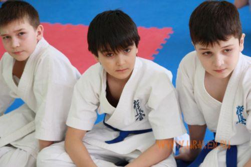 Шестые Клубные поединки УРАКЕН по каратэ шинкиокушин среди детей 20