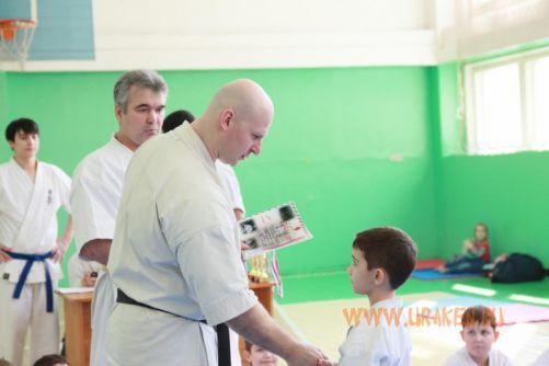 6 Клубные поединки УРАКЕН по каратэ шинкиокушин среди детей 15