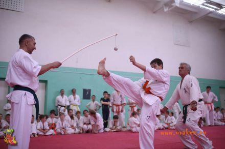 Посвящение в каратисты и экзамен на пояс клуб Уракен Волгоградской Федерации Каратэ 6