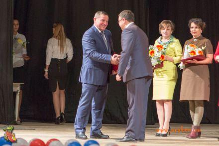 День учителя-2017 в Центральном концертном зале города Волгограда 19