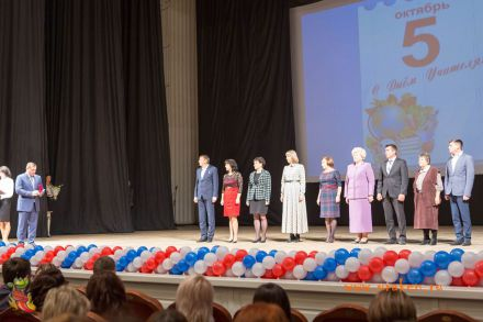 День учителя-2017 в Центральном концертном зале города Волгограда 13