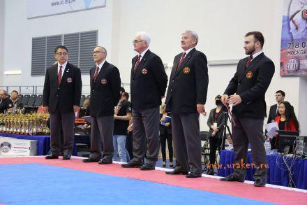 Чемпионат России по Киокусинкай каратэ 2017-urakenru тамэшивари 83