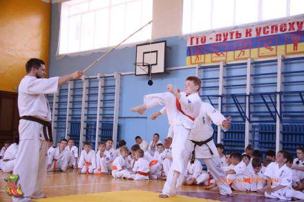 Кю-тест экзамен на пояс Волгоградской федерации шинкиокушин каратэ 12 мая 2018 17