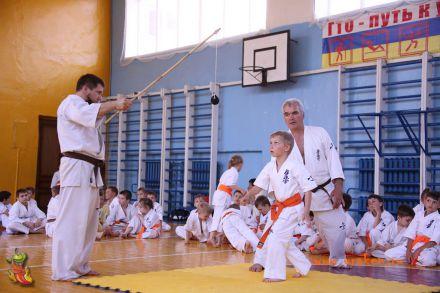 Кю-тест экзамен на пояс Волгоградской федерации шинкиокушин каратэ 12 мая 2018 33