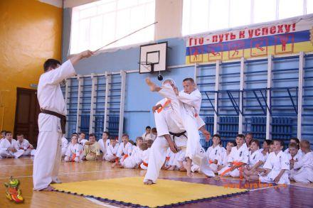 Кю-тест экзамен на пояс Волгоградской федерации шинкиокушин каратэ 12 мая 2018 1