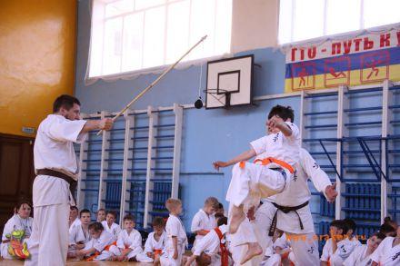 Кю-тест экзамен на пояс Волгоградской федерации шинкиокушин каратэ 12 мая 2018 36