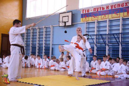Кю-тест экзамен на пояс Волгоградской федерации шинкиокушин каратэ 12 мая 2018 15