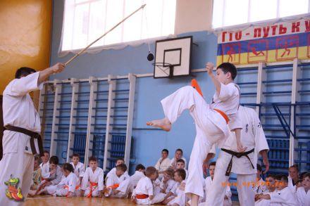 Кю-тест экзамен на пояс Волгоградской федерации шинкиокушин каратэ 12 мая 2018 24