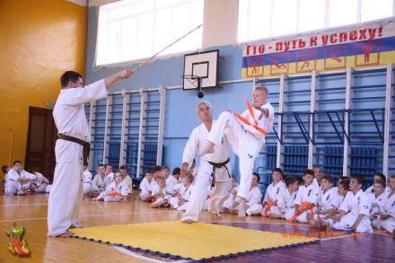 Кю-тест экзамен на пояс Волгоградской федерации шинкиокушин каратэ 12 мая 2018 2