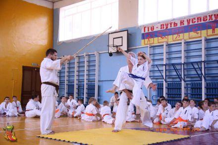 Кю-тест экзамен на пояс Волгоградской федерации шинкиокушин каратэ 12 мая 2018 40