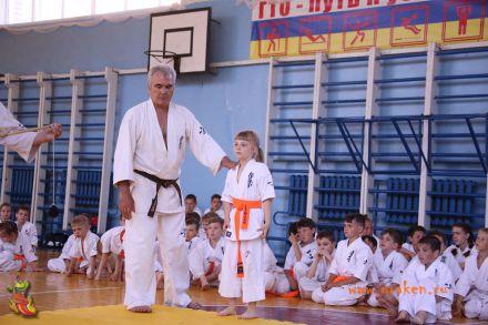 Кю-тест экзамен на пояс Волгоградской федерации шинкиокушин каратэ 12 мая 2018 29