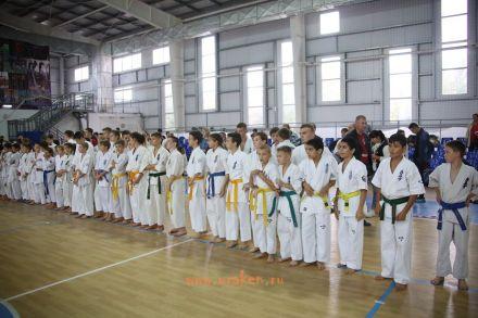 Чемпионат и Первенство Волгоградской области по киокушикан каратэ urakenru по кумитэ 23