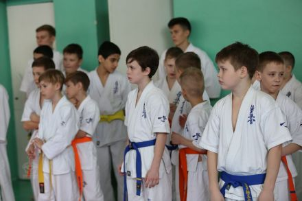 Мастер-класс в Федерации Киокушинкай Волгоградской области март 2020 78