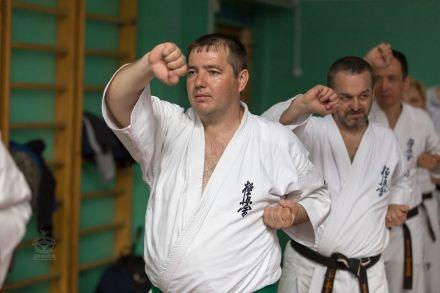 Мастер-класс в Федерации Киокушинкай Волгоградской области март 2020 45