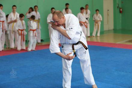 Мастер-класс в Федерации Киокушинкай Волгоградской области март 2020 80