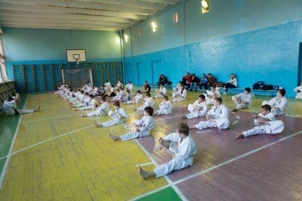 Боевая тренировка Волгоградской федерации каратэ киокусинкай 0