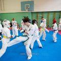 Боевая тренировка киокусинкай в Лицее 9 города Волгограда 24