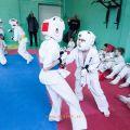 Боевая тренировка киокусинкай в Лицее 9 города Волгограда 12