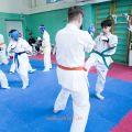 Боевая тренировка киокусинкай в Лицее 9 города Волгограда 5