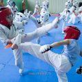 Боевая тренировка киокусинкай в Лицее 9 города Волгограда 9