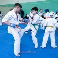 Боевая тренировка киокусинкай в Лицее 9 города Волгограда 1