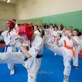 Боевая тренировка киокусинкай в Лицее 9 города Волгограда 26