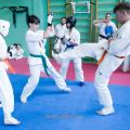 Боевая тренировка киокусинкай в Лицее 9 города Волгограда 6