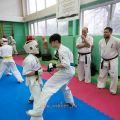 Боевая тренировка киокусинкай в Лицее 9 города Волгограда 25