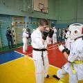 Боевая тренировка с каратистами города Волжского 52