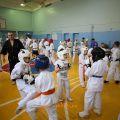 Боевая тренировка с каратистами города Волжского 50