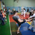 Боевая тренировка с каратистами города Волжского 43