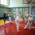 Боевая тренировка с каратистами города Волжского 47