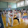 Боевая тренировка с каратистами города Волжского 21