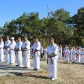 Общая тренировка карате шинкиокушин уракен на Мамаевом Кургане 48