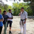Общая тренировка карате шинкиокушин уракен на Мамаевом Кургане 35