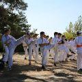 Общая тренировка карате шинкиокушин уракен на Мамаевом Кургане 19