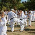 Общая тренировка карате шинкиокушин уракен на Мамаевом Кургане 37