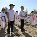 Общая тренировка карате шинкиокушин уракен на Мамаевом Кургане 29