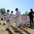 Общая тренировка карате шинкиокушин уракен на Мамаевом Кургане 39