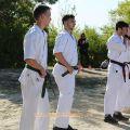 Общая тренировка карате шинкиокушин уракен на Мамаевом Кургане 13
