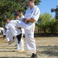 Общая тренировка карате шинкиокушин уракен на Мамаевом Кургане 14