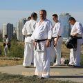Общая тренировка карате шинкиокушин уракен на Мамаевом Кургане 27