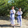 Общая тренировка карате шинкиокушин уракен на Мамаевом Кургане 57