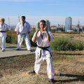 Общая тренировка карате шинкиокушин уракен на Мамаевом Кургане 11