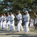 Общая тренировка карате шинкиокушин уракен на Мамаевом Кургане 31